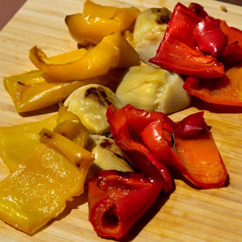 orto in tavola carciofi peperoni